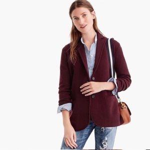 J.Crew Factory Sweater Blazer